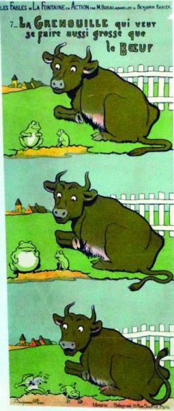 Le Tour Du Monde Par L'Affiche -8 Ème Édition - Artprecium à La Grenouille Qui Veut Se Faire Aussi Grosse Que La Vache Pdf
