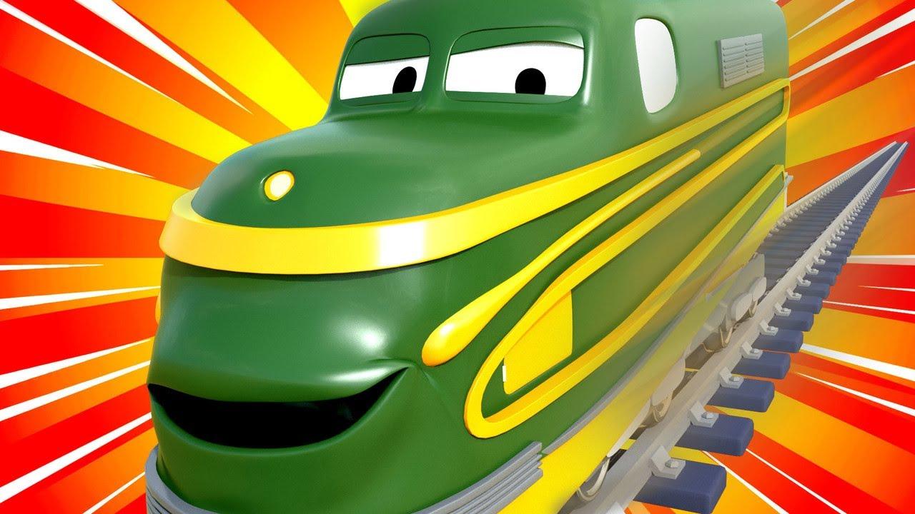 Le Train A Grande Vitesse Fait La Course Contre Henry Le serapportantà Dessin Animé Train Thomas