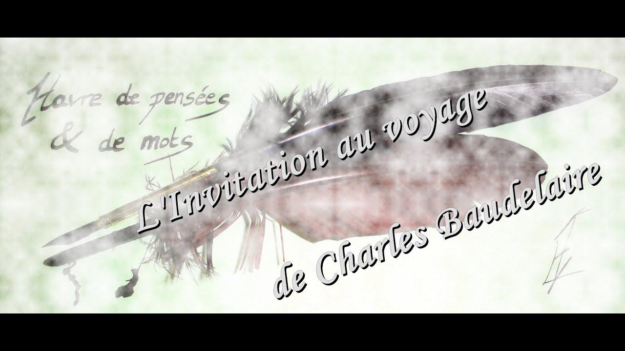 """Lecture De """"L'Invitation Au Voyage"""" [Poème] - pour Vacances Poesie"""