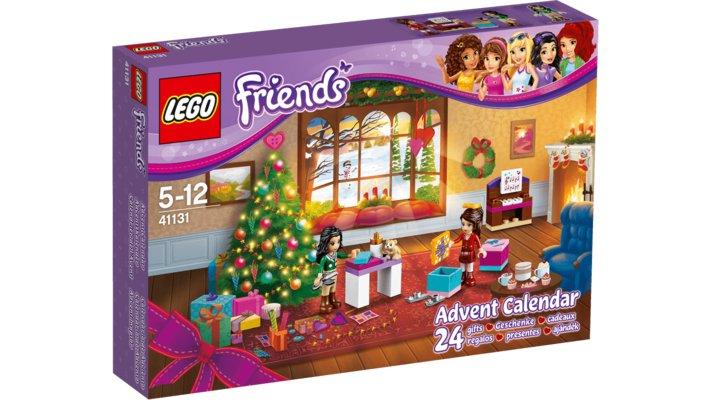 Lego 41131 - Le Calendrier De L'Avent Lego® Friends tout Ecole Lego Friends