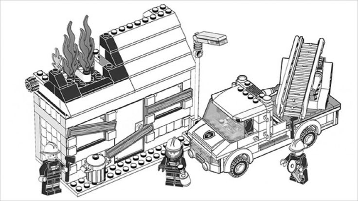 Lego City Coloring Pages Free | Cartoon | Lego Coloring avec Dessin Animé Lego City