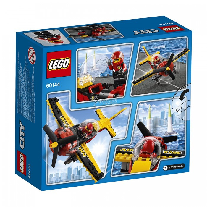 Lego - City - L Avion De Course - 60144 - Code : 5702015865685 serapportantà Lego Avion De Ligne
