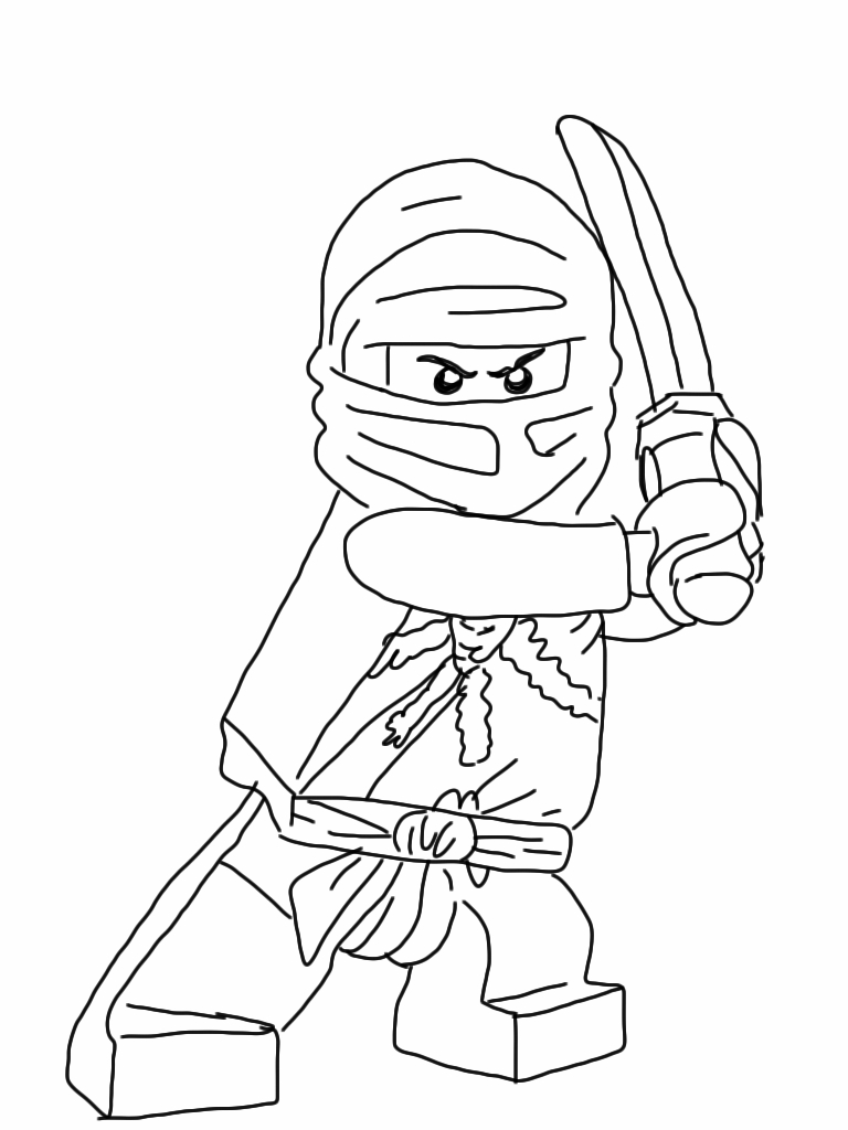 Lego Coloring Pages To Print - Coloring Pages & Pictures pour Coloriage Ninjago