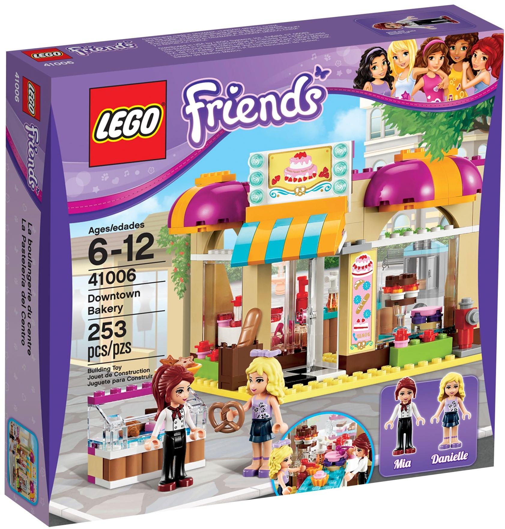 Lego Friends 41006 Pas Cher - La Boulangerie De Heartlake City concernant Ecole Lego Friends