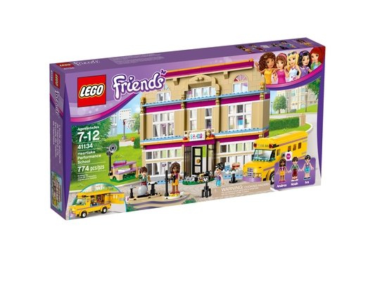 Lego - Friends - 41134 - L'École De Spectacle De Heartlake destiné Ecole Lego Friends