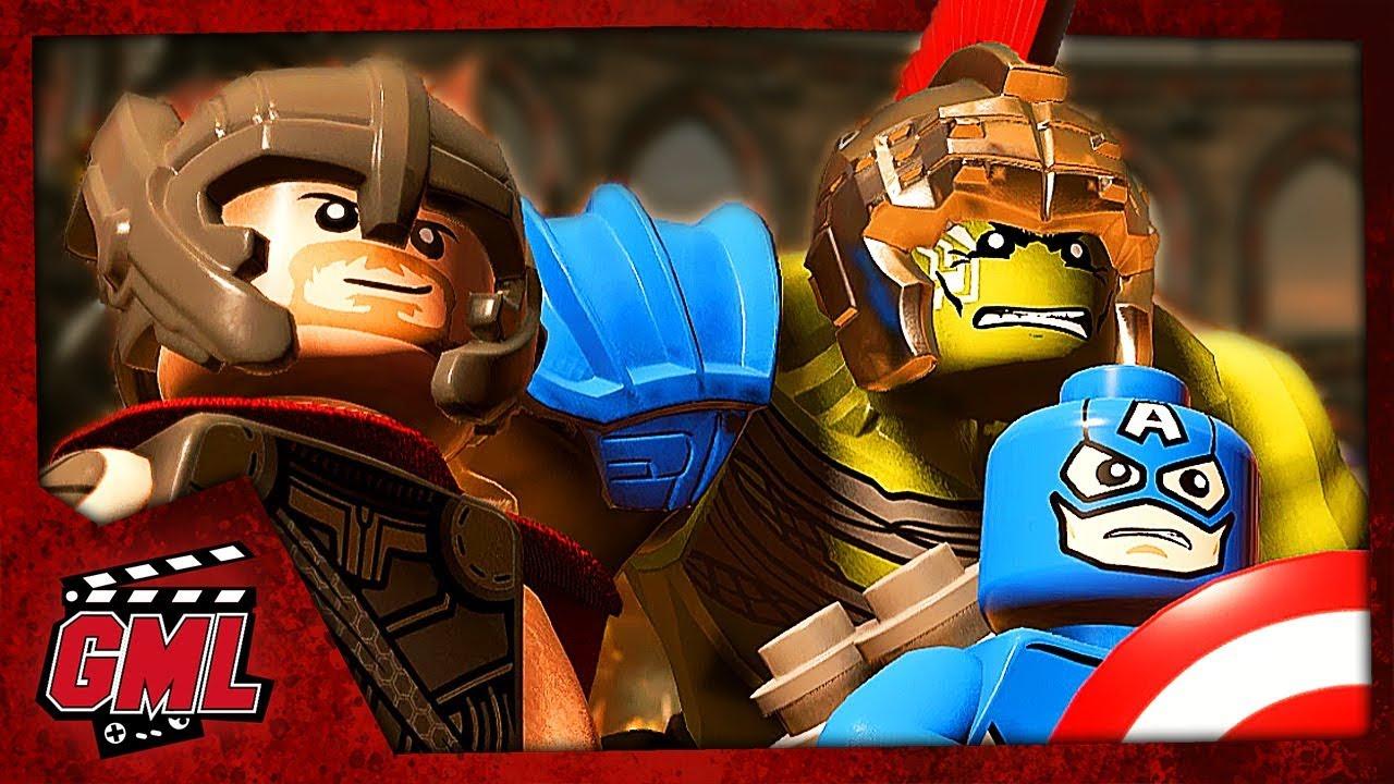 Lego Marvel Super Heroes 2 - Film Jeu Complet En Francais avec Super Héros Fille Marvel