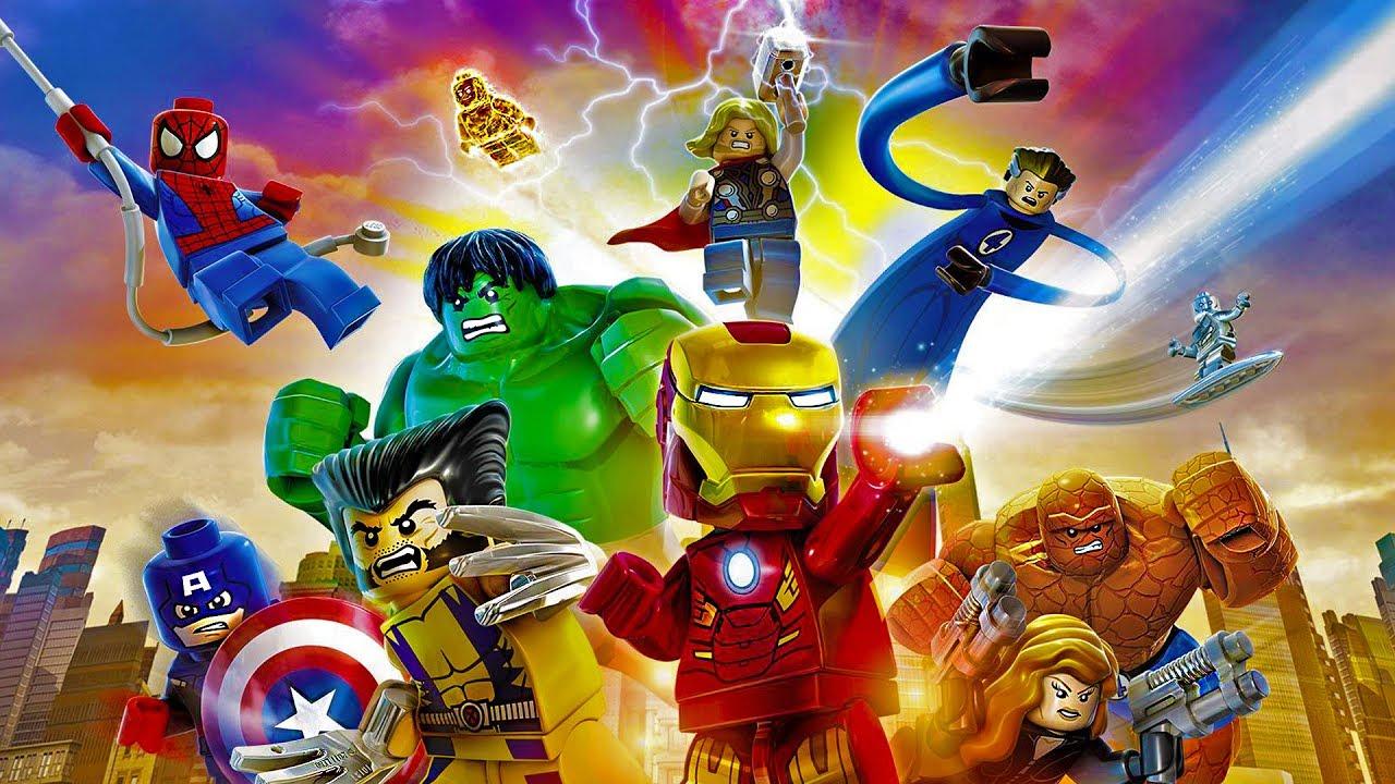 Lego Marvel Super Heroes - Pelicula Completa En Español tout Super Héros Fille Marvel