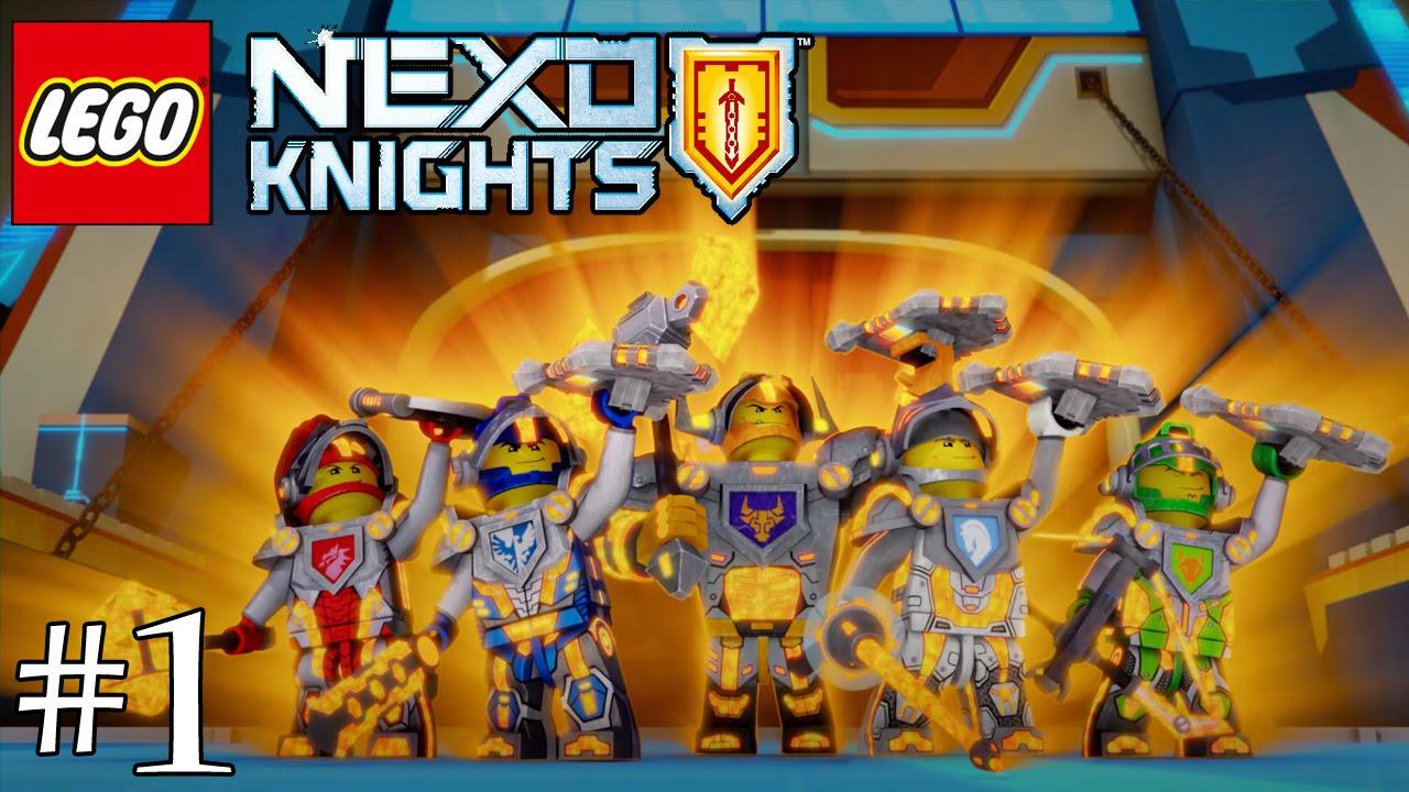 Lego Nexo Knights Fr 1/3 - destiné Lego City Dessin Animé
