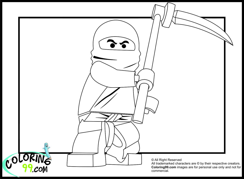 Lego Ninjago Cole Coloring Pages | Team Colors encequiconcerne Coloriage ?Cole