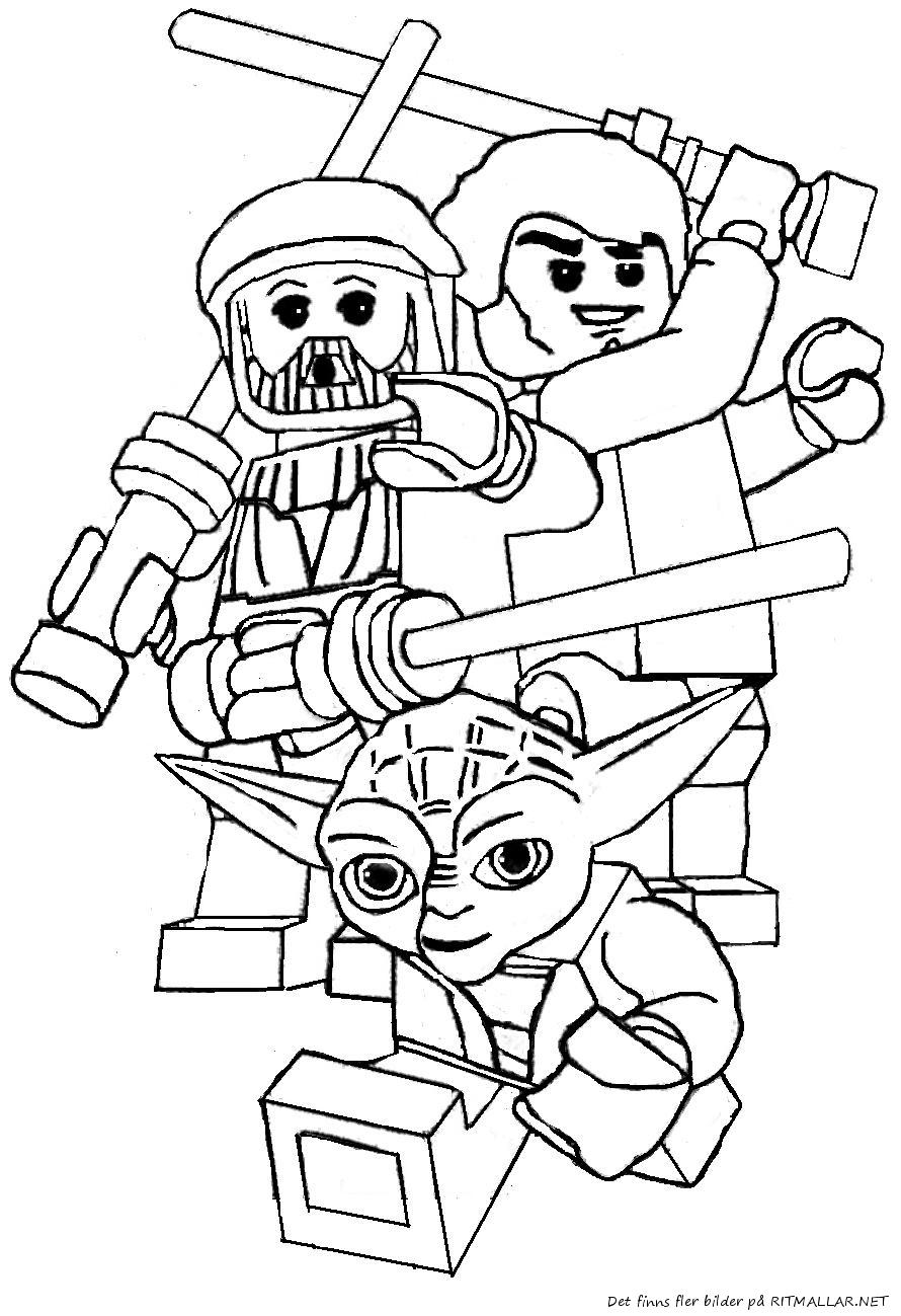Lego Star Wars A Colorier serapportantà Star Wars Dessin A Imprimer