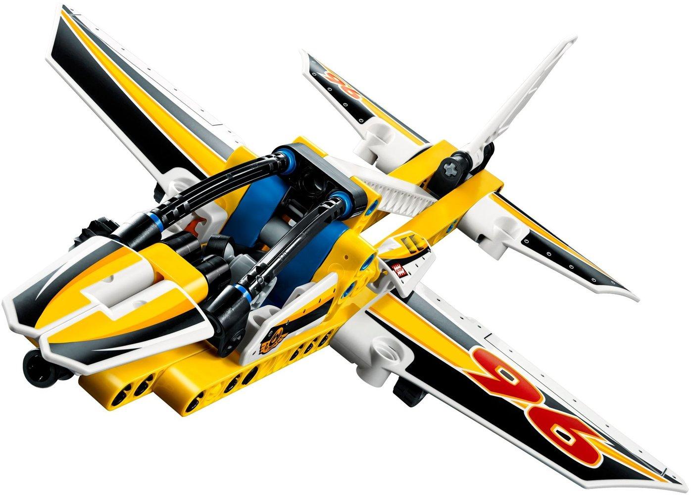 Lego Technic 42044 Pas Cher, L'Avion De Chasse Acrobatique intérieur Lego Avion De Ligne