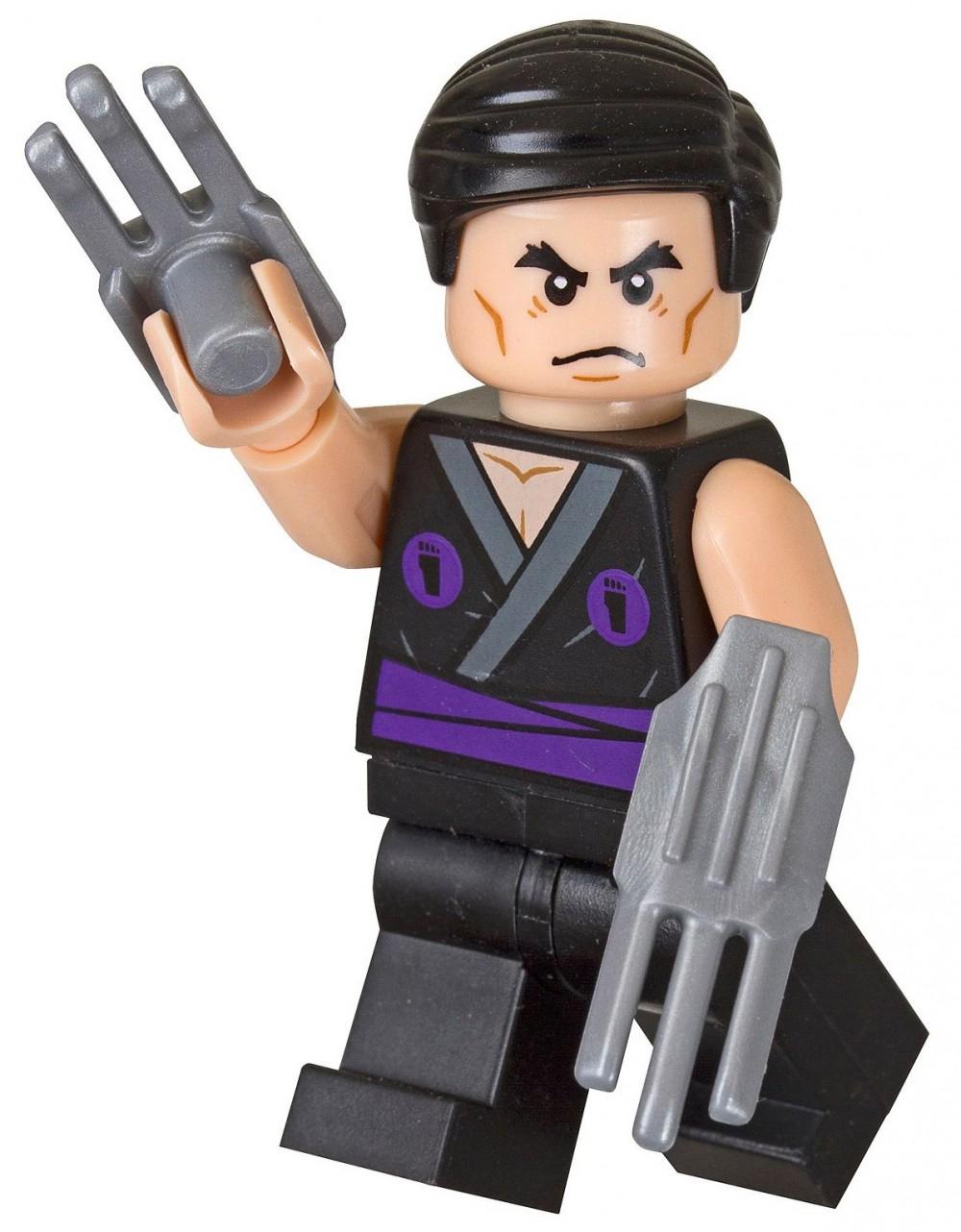 Lego Tortues Ninja 5002127 Pas Cher, Flashback Shredder intérieur Tortue Ninja Shredder