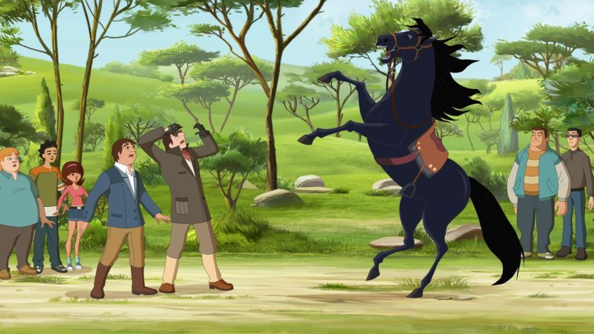 Lenasranch_Vol6_Bild3 | Ranch, Lena, Pferde pour Dessin Animé Du Ranch