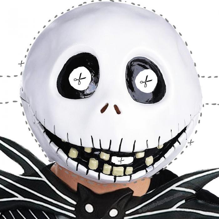 Les 10 Meilleures Images Du Tableau Halloween Sur tout Masque Halloween A Fabriquer