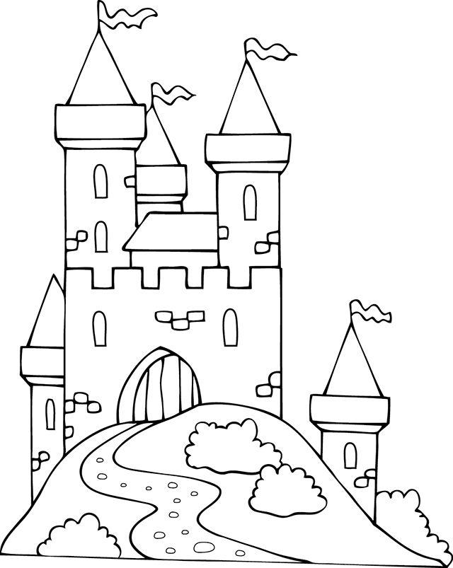 Les 25 Meilleures Idées De La Catégorie Dessin Chateau concernant Dessin Chateau Moyen Age