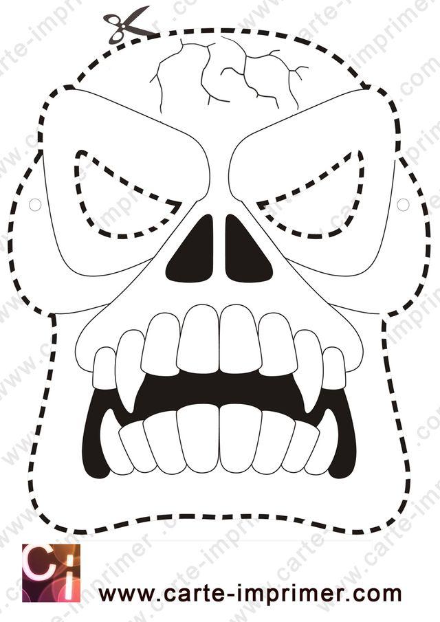 Les 25 Meilleures Idées De La Catégorie Masque Halloween A destiné Masque Halloween A Fabriquer