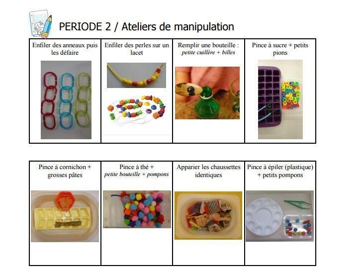 Les 441 Meilleures Images Du Tableau Ateliers Manipulation tout Les Ateliers Individuels De Manipulation Pdf