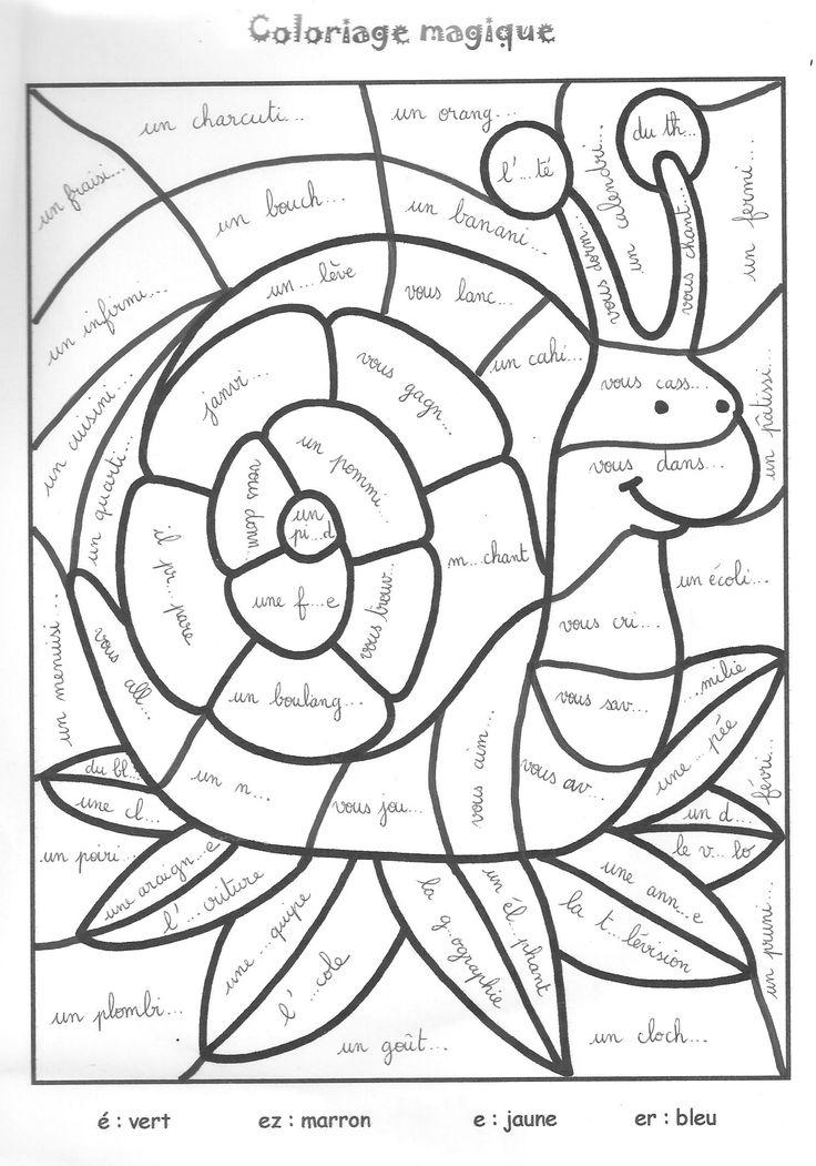 Les 46 Meilleures Images Du Tableau Coloriages Magiques serapportantà Mandala Cm2