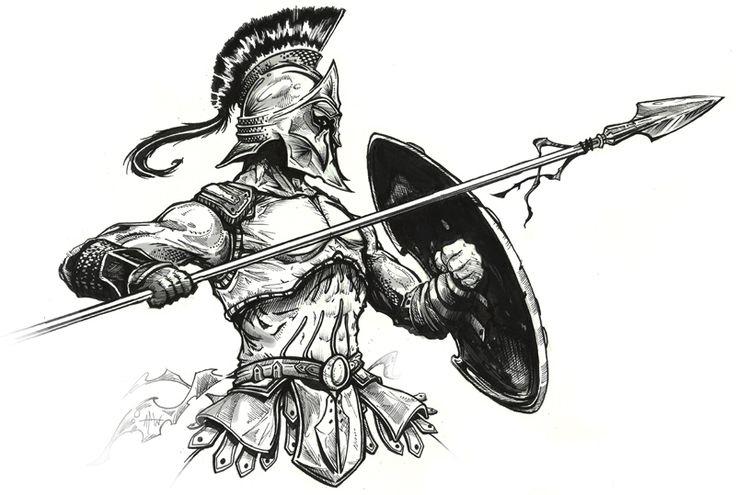 Les 57 Meilleures Images Du Tableau Gladiateur Romain Sur dedans Gladiateur Dessin