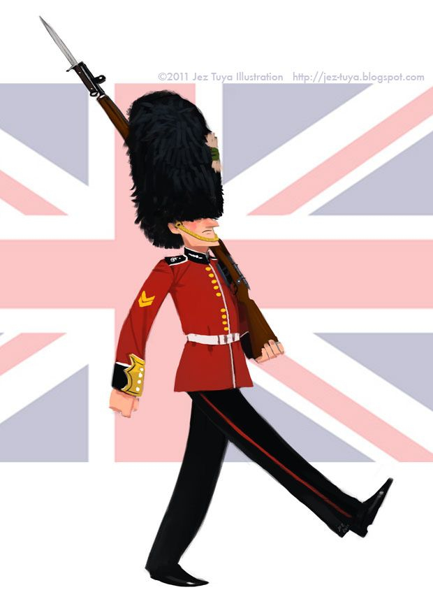 Les 67 Meilleures Images Du Tableau London Sur Pinterest pour Garde Anglais Dessin