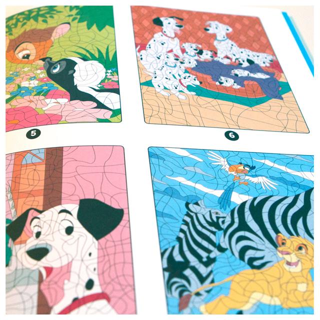 « Les Ateliers Coloriages Mystères » Disney Hachette dedans Coloriages Mystères Disney