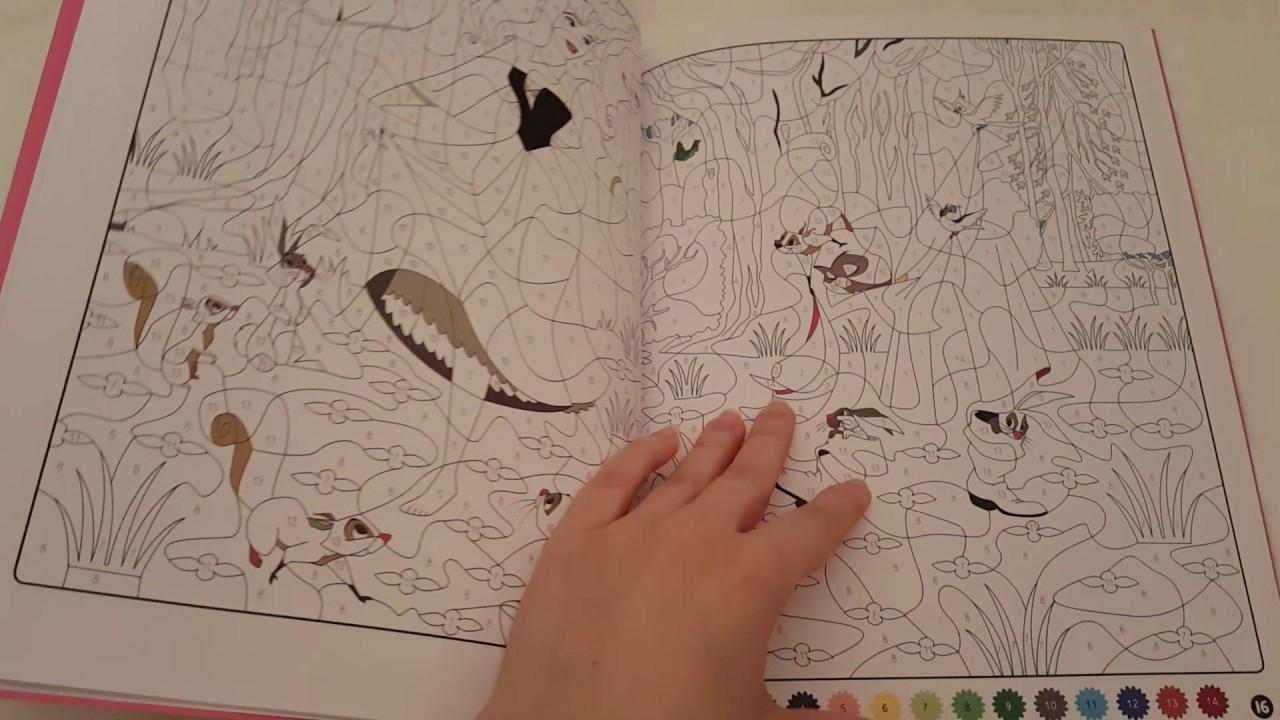 Les Ateliers: Disney Princesses: Coloriages Mystères - intérieur Coloriages Mystères Disney