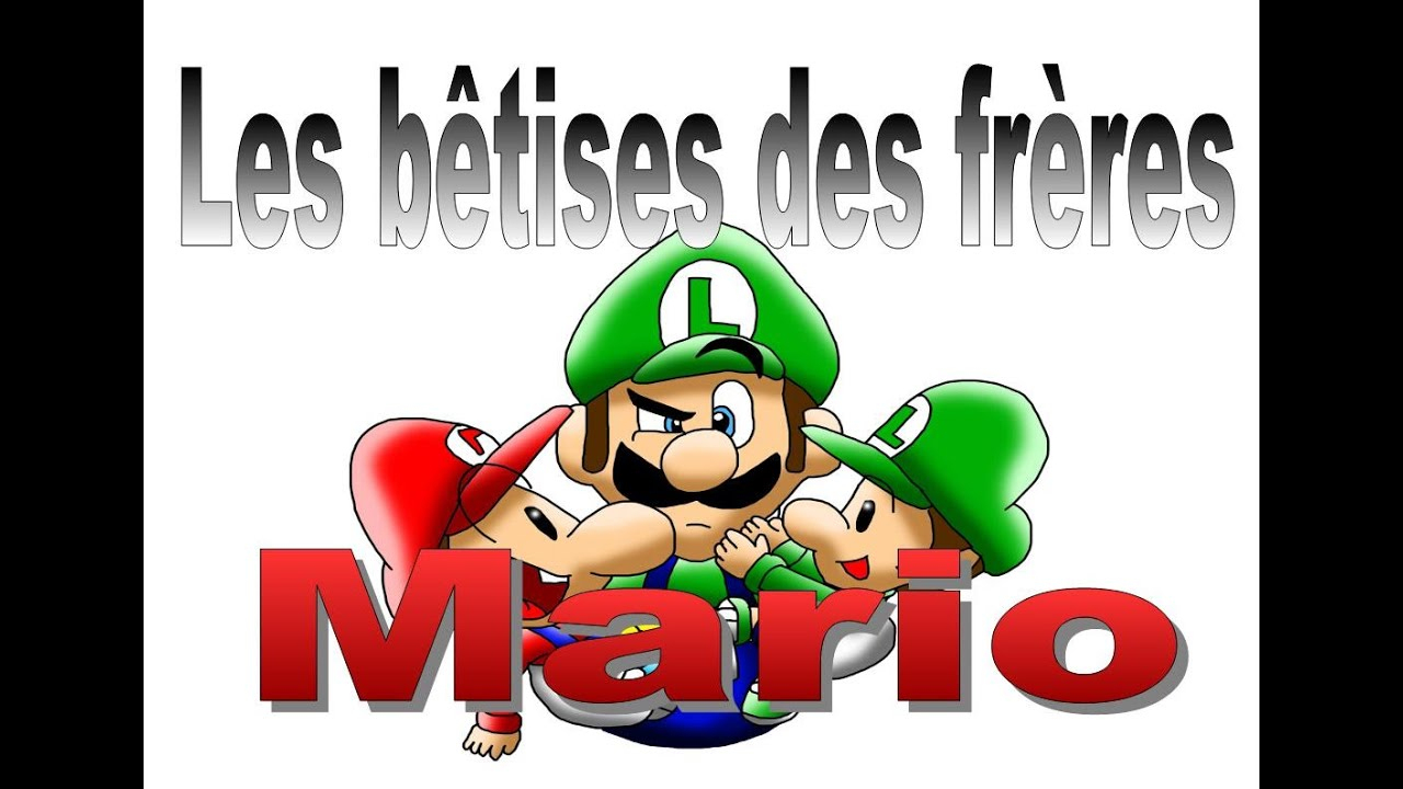 Les Bêtises Des Bébé Mario - Chanson De Mam Lapouriture destiné Les Chanson De Bebe