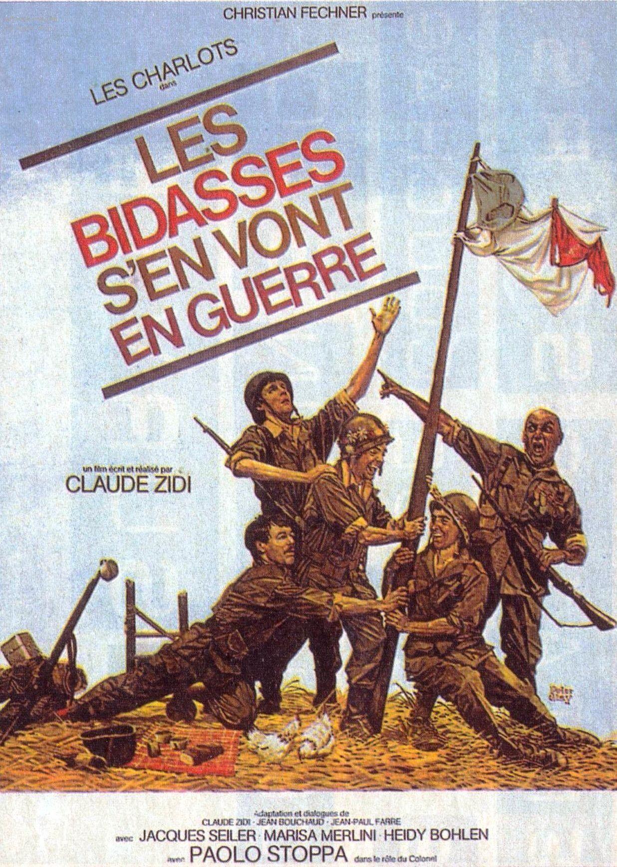 Les Bidasses S'En Vont En Guerre - Film (1974) - Senscritique destiné Les Canards Vont À La Mare