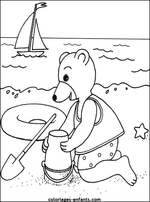 Les Coloriages De La Mer À Imprimer Sur Coloriages-Enfants concernant Coloriage Animaux De La Mer A Imprimer