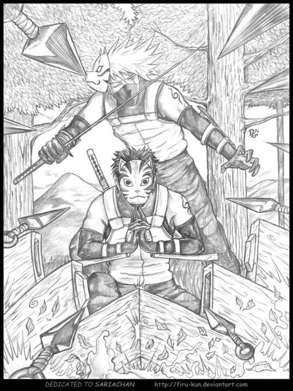 Les Fans De Mangas pour Coloriage De Naruto
