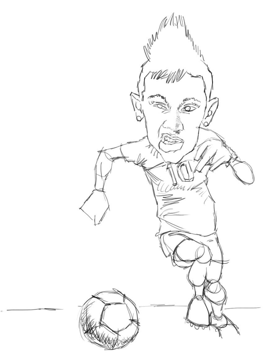 Les Fans Du Foot | Happykids93130 destiné Coloriage De Footballeur