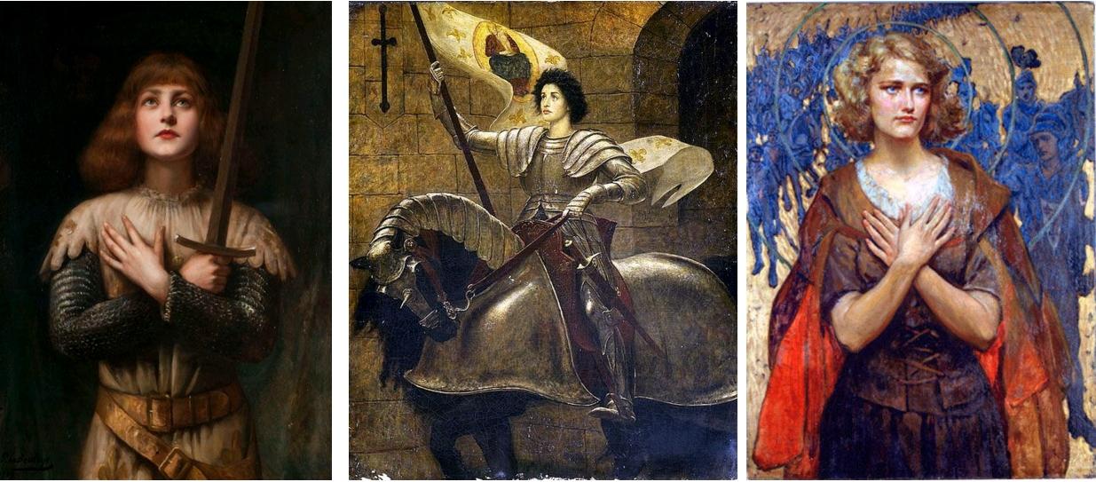 Les Figurations Sensuelles Et Érotiques Dans L'imagerie De dedans Dessin Magique Ste Jeanne D'Arc