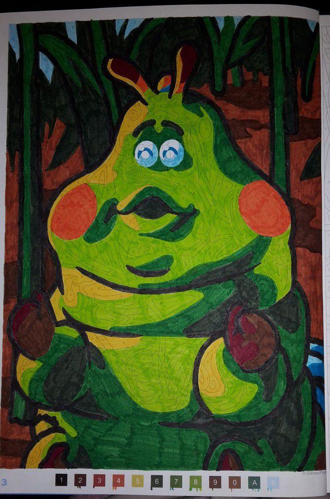 Les Grands Classiques Disney, Coloriages Mystère N°3 - L encequiconcerne Feutre Coloriage Mystere