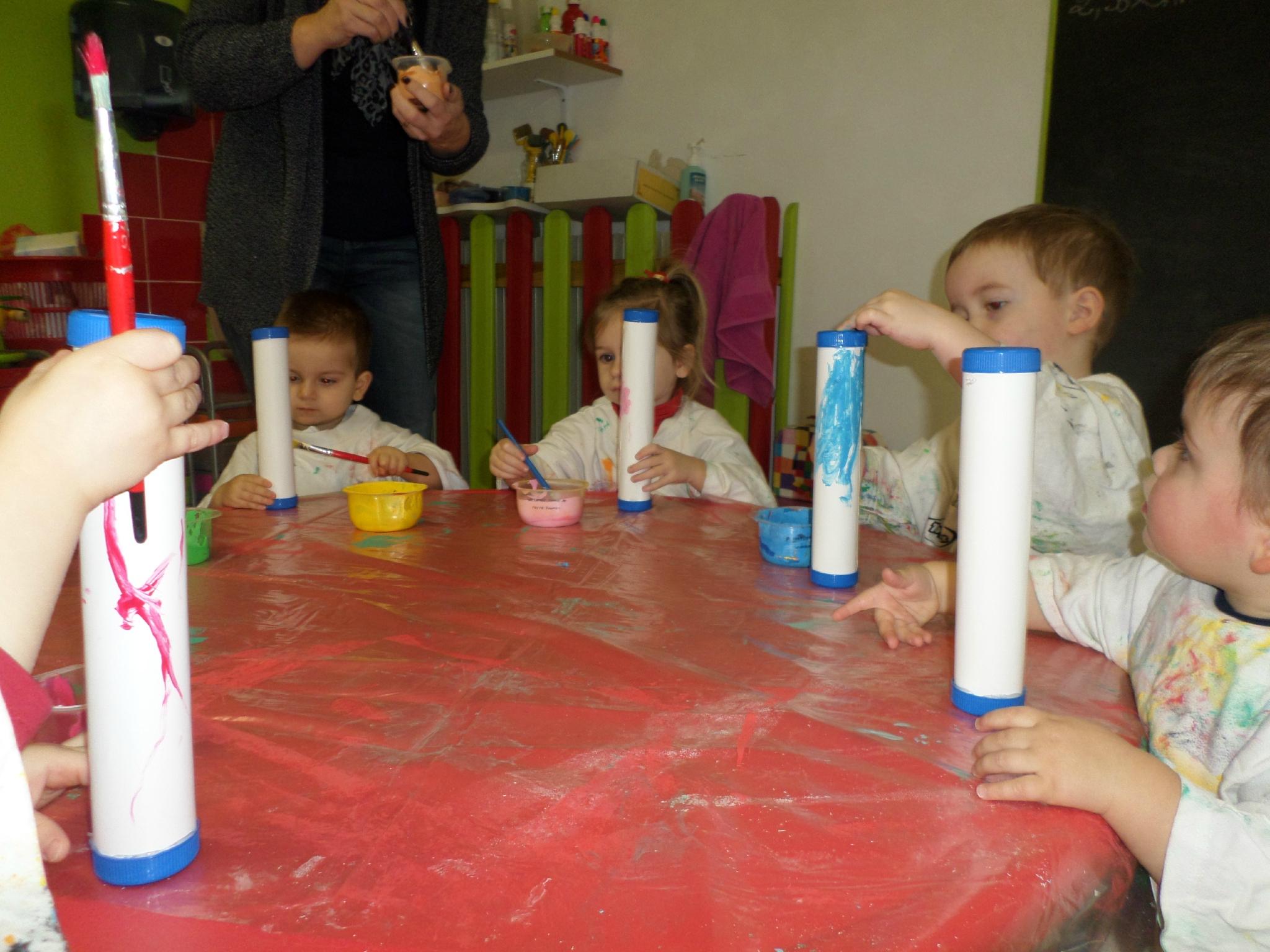 Les Maracas - Maison D'Assistantes Maternelles La Villa tout Fabrication Maracas Maternelle