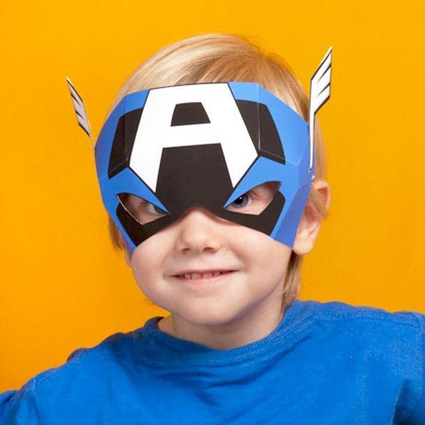Les Masques Avengers À Imprimer Pour Les Enfants à Masque Super Héros A Imprimer
