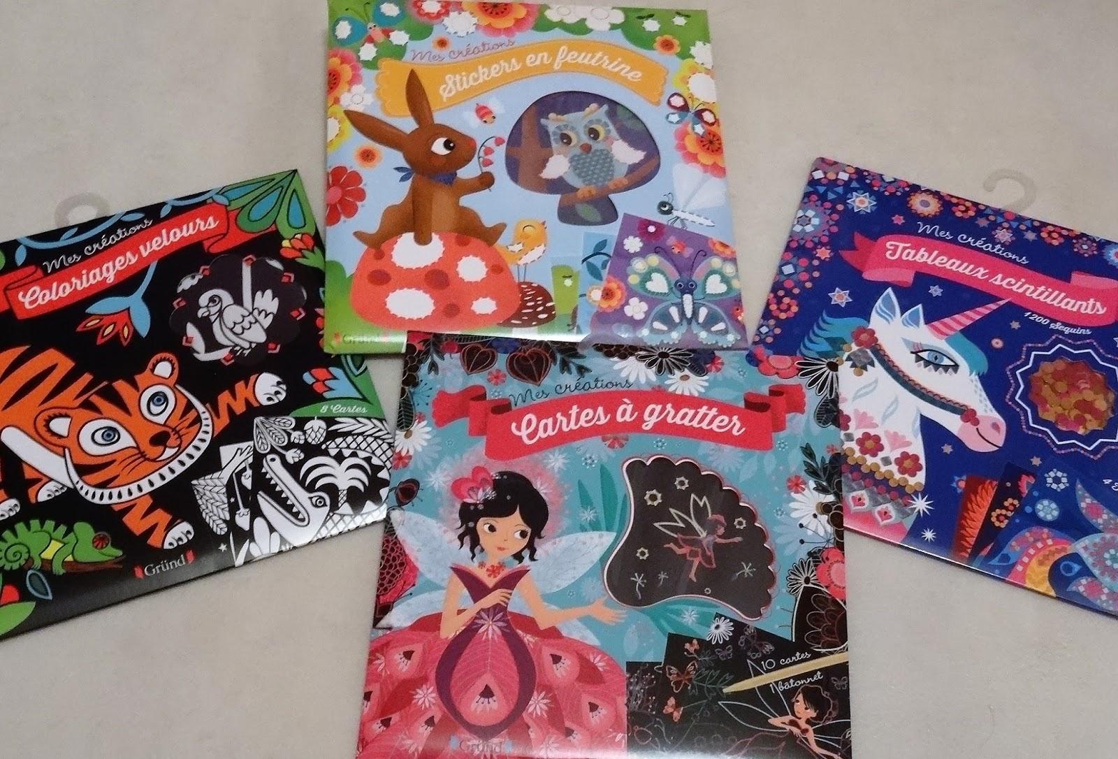 Les Mercredis De Julie: [Pochettes Mes Créations] Cartes À concernant Coloriage À Gratter