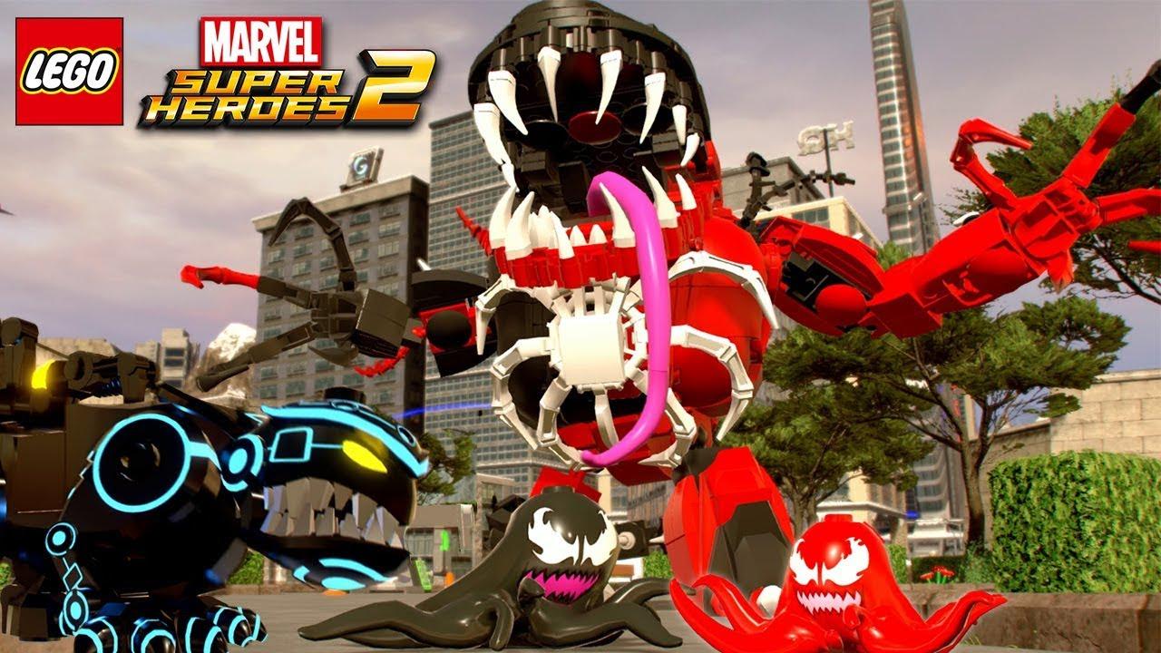 Les Personnages Secrets - Lego Marvel Super Heroes 2 - à Super Héros Fille Marvel
