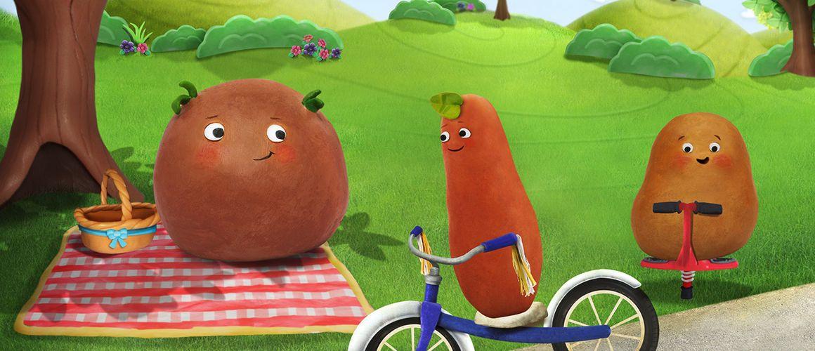 Les Petites Patates : Bébé Lune Saison 1 Episode 12 pour Les Patates Chanson