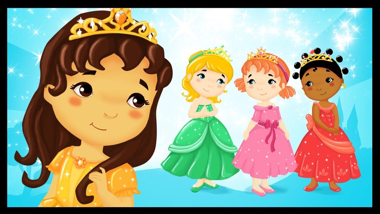 Les Petites Princesses Du Monde - Chanson - Comptine - dedans Les Chanson Pour Les Bébé