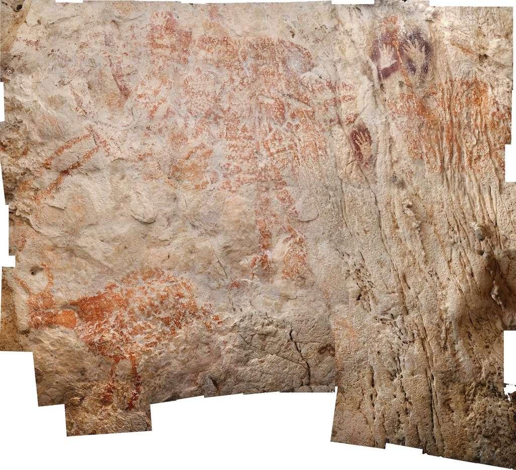 Les Plus Anciennes Peintures Figuratives Du Monde Ont Plus à Dessin D Un Boeuf