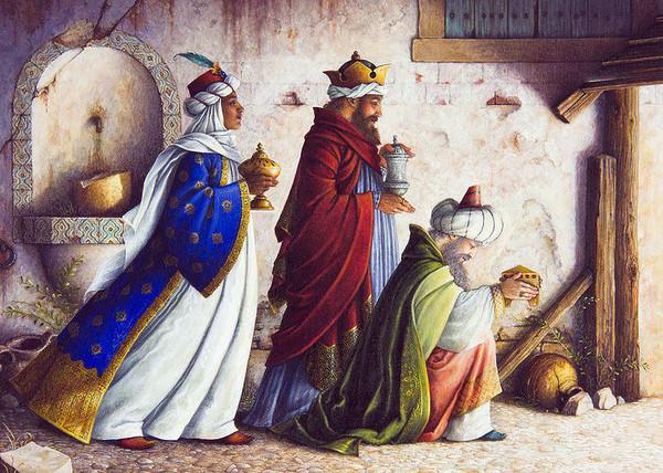 Les Rois Mages tout Chameaux 3 Rois Mages