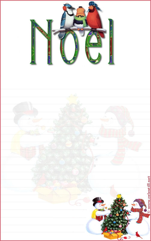 Lettre Au Pere Noel A Imprimer - Sylviascrap concernant Papier Lettre Pere Noel