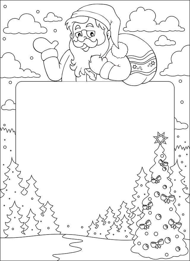 Lettre Au Père Noël In 2020 | Coloring Pages, Christmas intérieur Lettre Au Pere Noel 2020
