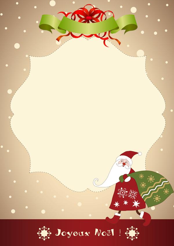Lettres Au Père Noël En Téléchargement Gratuit - Plume serapportantà Image Pere Noel Gratuit