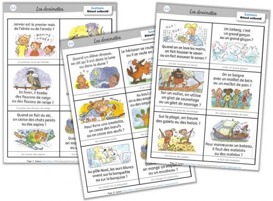 """Lexique Cycle 2 - Les Rituels-Devinettes """"Un Mot Pour Un serapportantà Structurer Le Vocabulaire Cycle 2"""