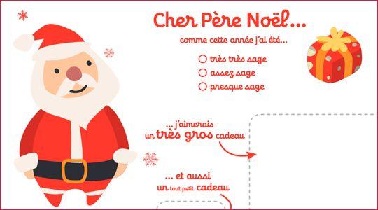 Liste Au Pere Noel A Imprimer | Lettre Pere Noel encequiconcerne Image Pere Noel Gratuit