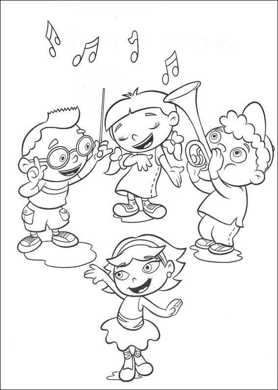 Little Einsteins Play Music Together | Music Coloring intérieur La Fete De La Musique Coloring Book