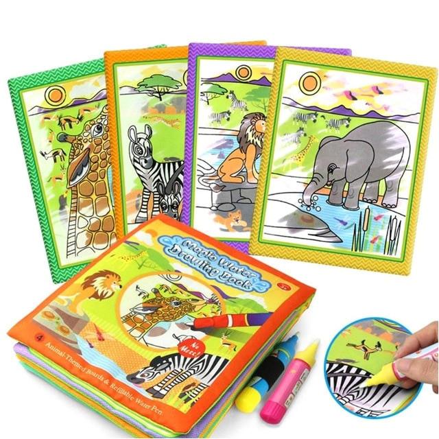 Livre Coloriage Stylo Eau 95 Coloriage Magique A L Eau serapportantà Livre Coloriage Magique