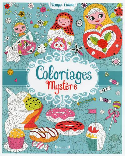 Livre: Coloriages Mystère, Varone, Eugénie, Grund intérieur Coloriage Mystère