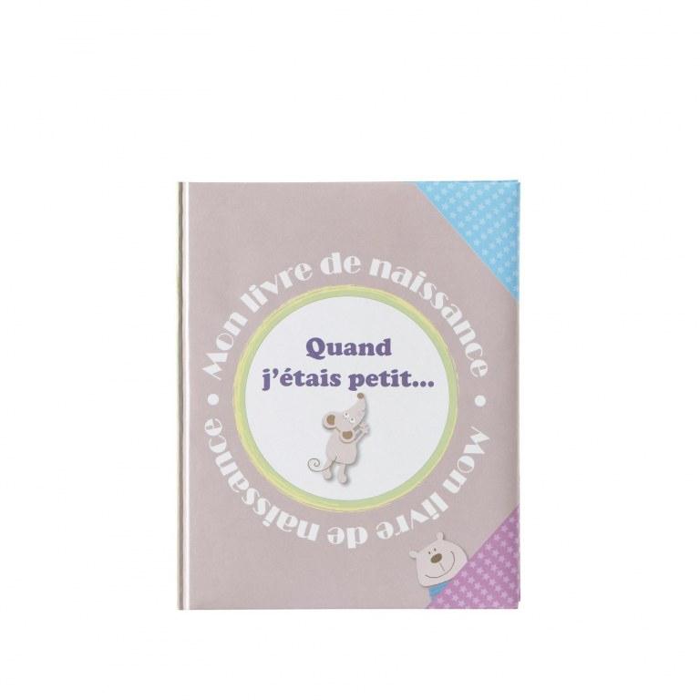 """Livre De Naissance """"Quand J'Etais Petit"""" Souris Domiva serapportantà Quand J Étais Petite Fille"""